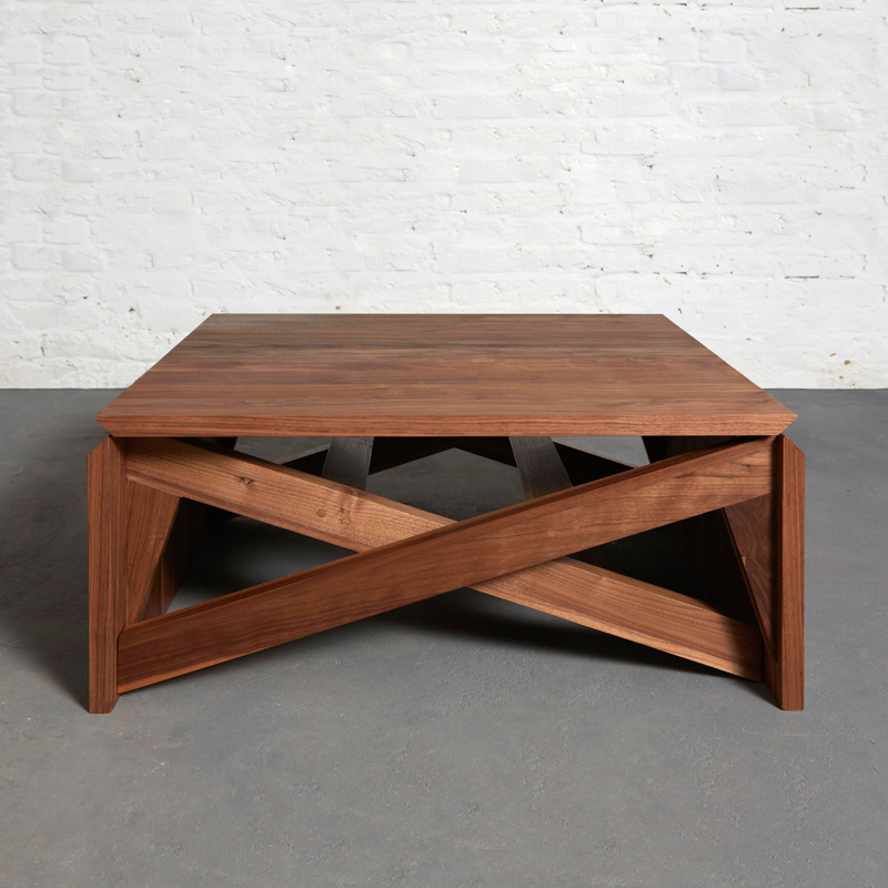 Mk1 transforming coffee table duffy london - Table de salon transformable ...