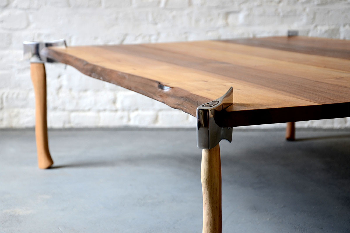 Woodsman axe table duffy london for Table za stolove