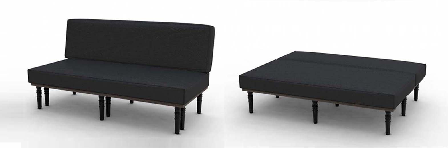 Bench sofa bed sofa bed design ottoman harvey norman for Sofa stool design