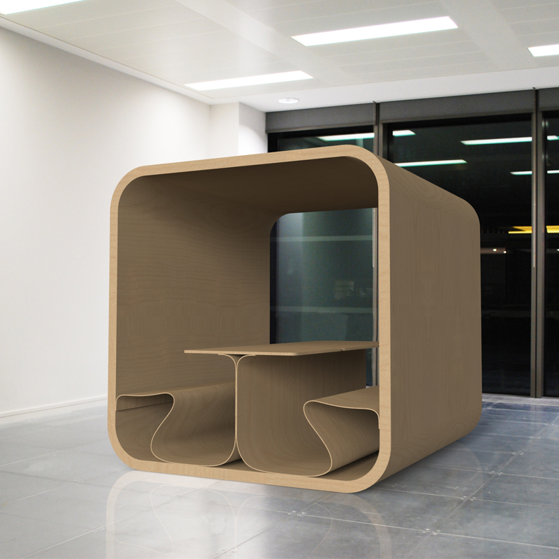 Meeting pod duffy london for Furniture jobs london