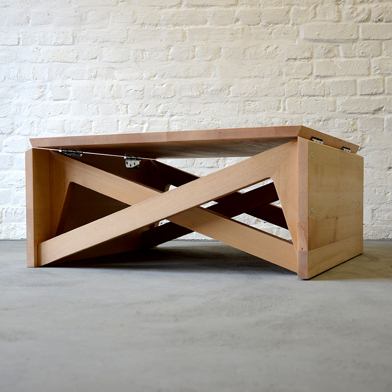 how to fix a peeling wood coffee table