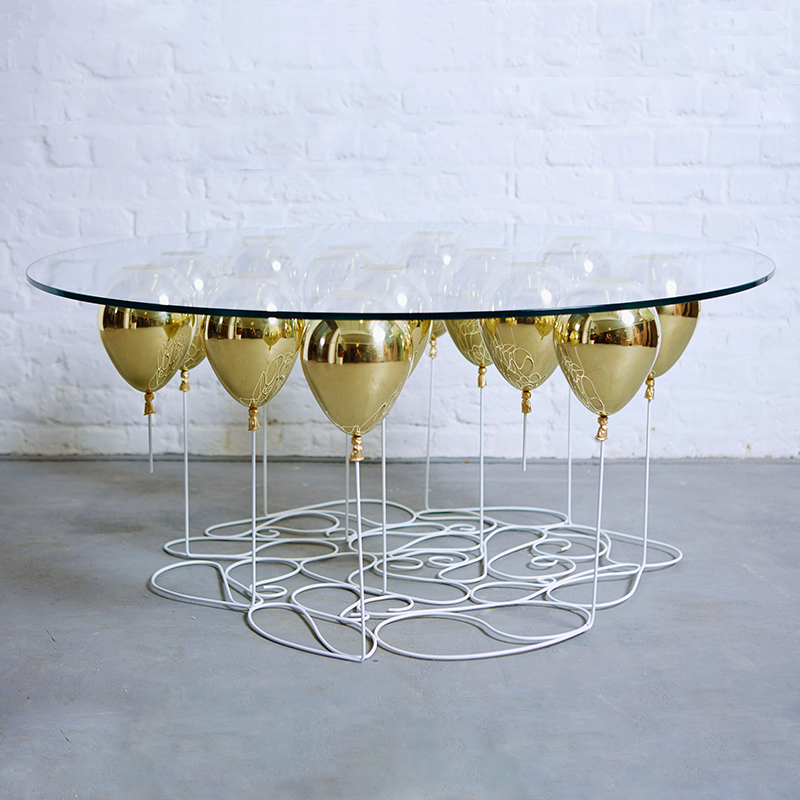 UP BALLOON COFFEE TABLE ROUND EDITION BY DUFFY LONDON