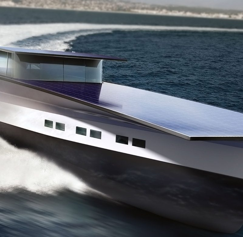 solaris global cruiser super yacht solar panels