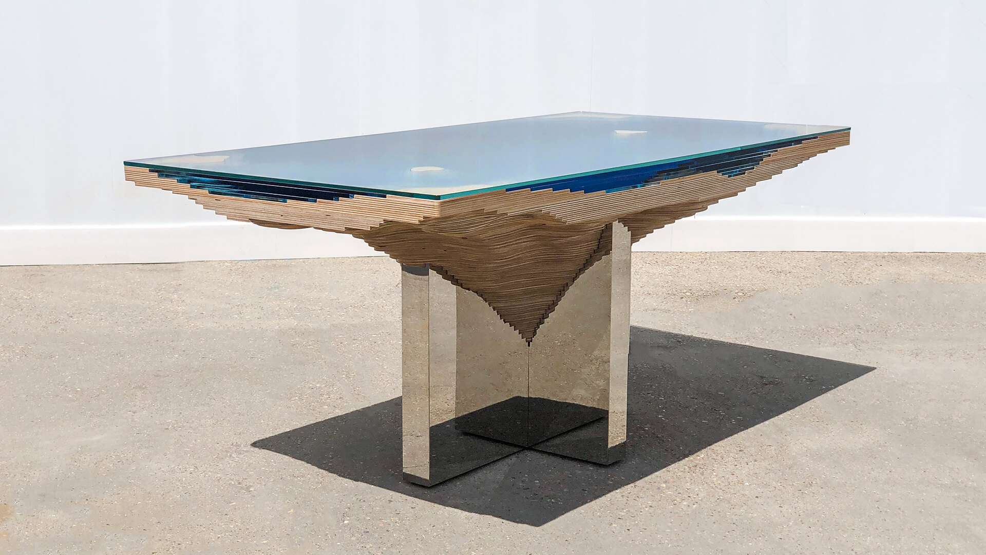 The Abyss Dining Table by Chris Duffy