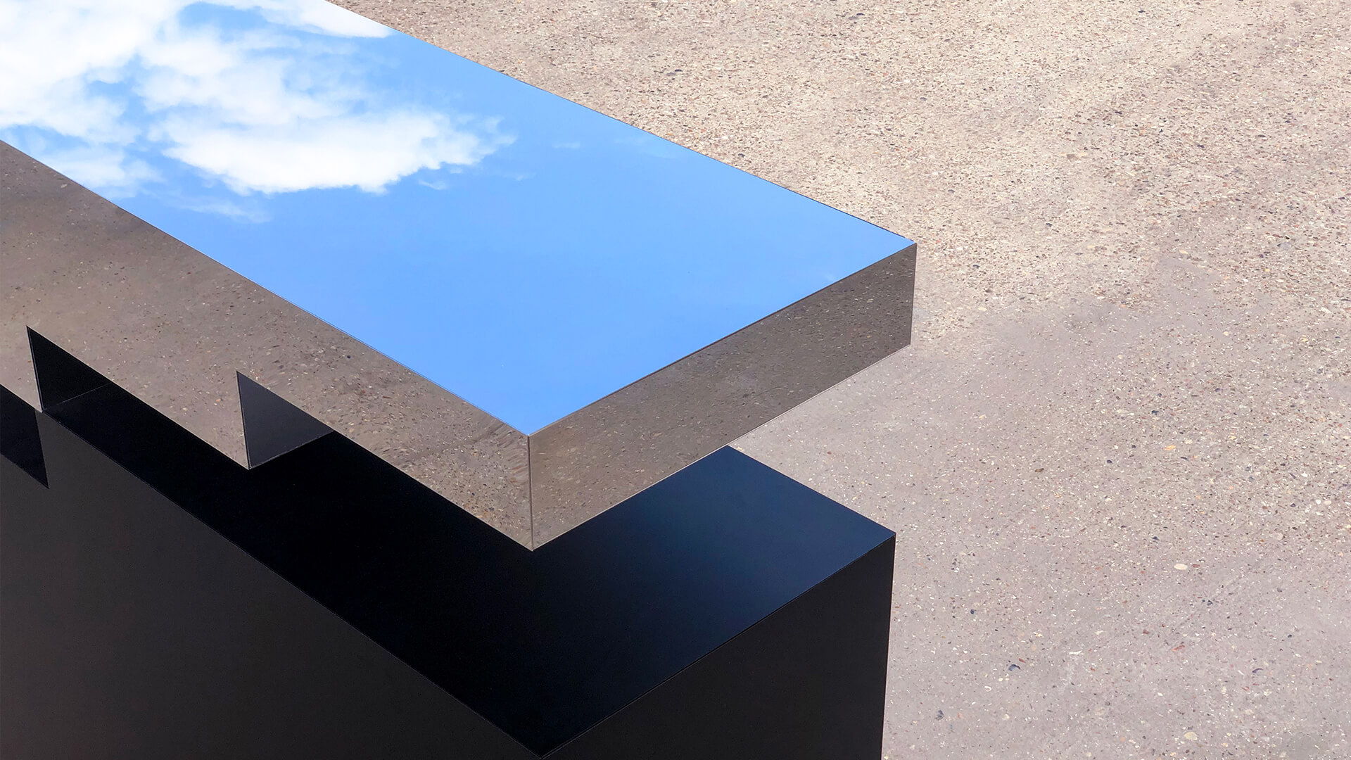 Impossible Console Table