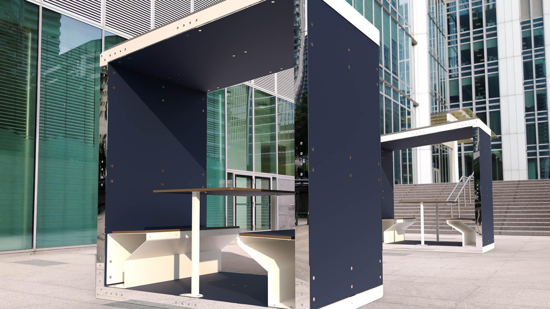 Minka Solar Meeting Pod by Duffy London